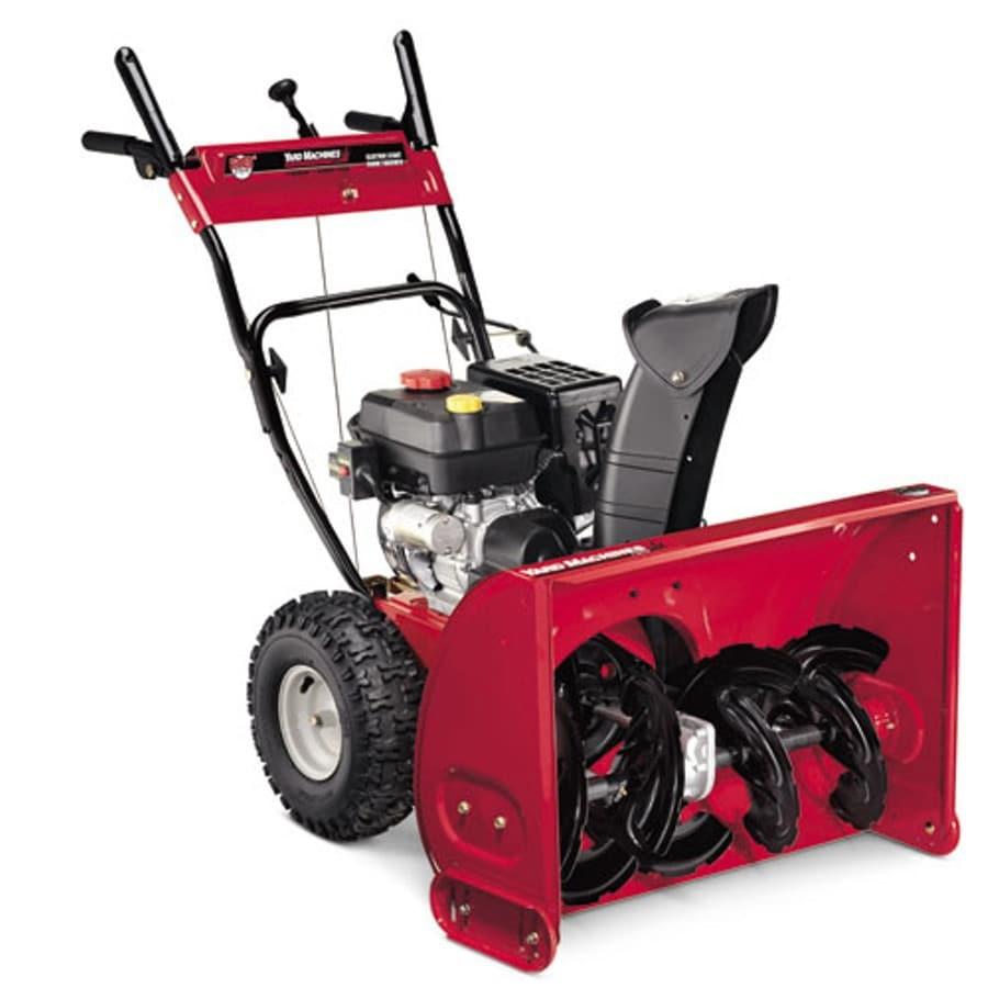 Yard Machines 277-cc 28-in 2-Stage Electric Start Gas Snow Blower
