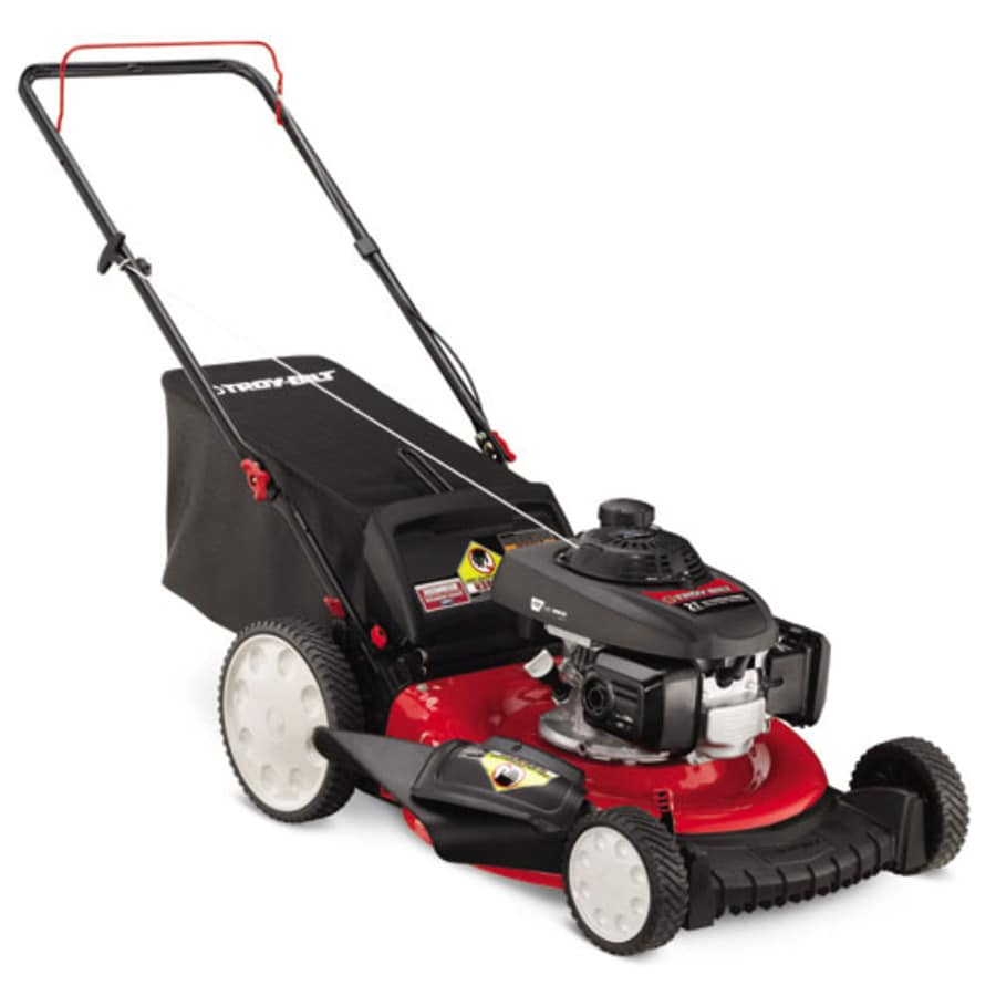 Troy-Bilt TB130 160-cc 21-in 3 in 1 Gas Push Lawn Mower with Honda Engine and Mulching Capability