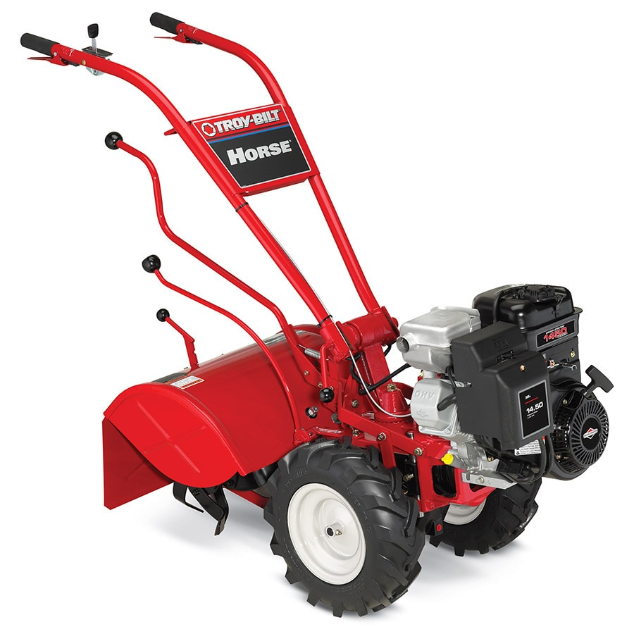 Shop Troy Bilt Horse 305cc 20 In Rear Tine Tiller With Briggs Engine Diagram Stratton