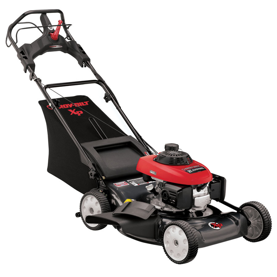 Troy-Bilt 160cc 21-in Self-Propelled Rear Wheel Drive Gas Lawn Mower with Mulching Capability