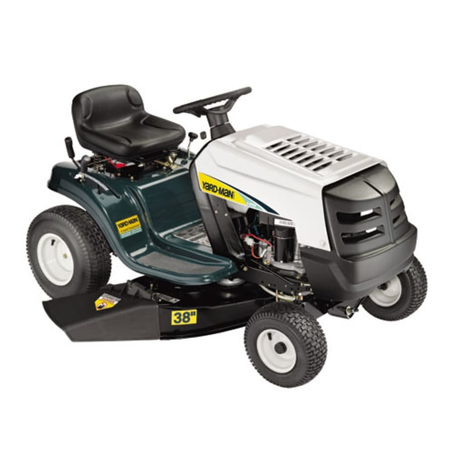 Yard-Man 12.5-HP Manual 38-in Riding Lawn Mower