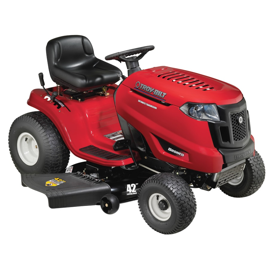 Troy-Bilt 20 HP Automatic 42-in Riding Lawn Mower with Kohler Engine (CARB)