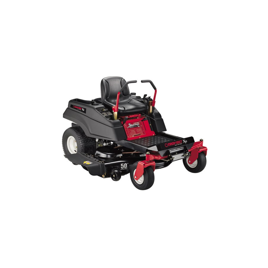 Troy-Bilt XP Mustang XP 25-HP V-Twin Dual Hydrostatic 50-in Zero-Turn Lawn Mower
