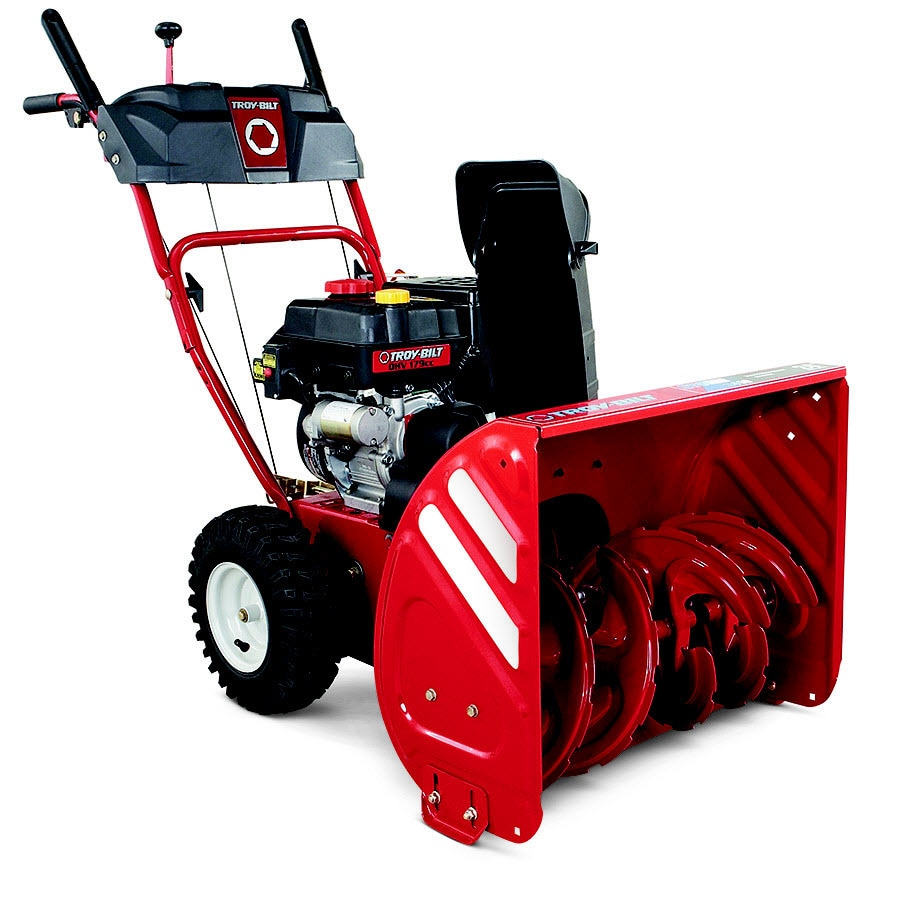 Snow Blower 24 >> Shop Troy Bilt Storm 2410 24 In Two Stage Gas Snow Blower Self