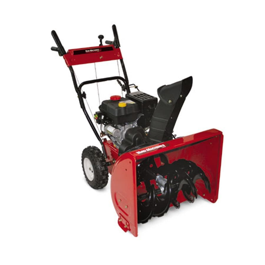 Yard Machines 179-cc 24-in 2-Stage Electric Start Gas Snow Blower