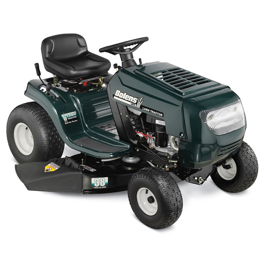 Bolens 13.5-HP Manual 38-in Riding Lawn Mower
