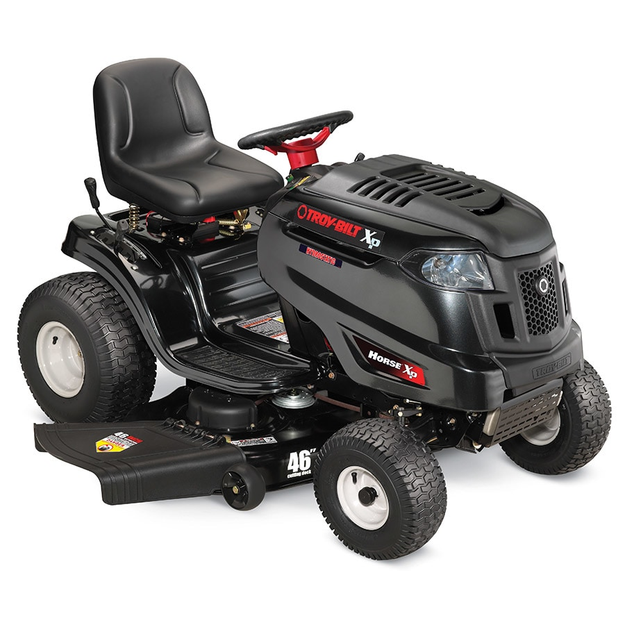 Troy-Bilt XP Horse XP 22 HP Single Cylinder Hydrostatic 46-in Riding Lawn Mower