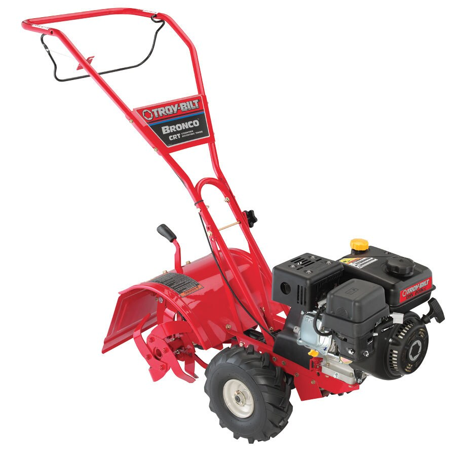 Troy Bilt 205 Cc 14 In Rear Tine Tiller With Briggs Stratton Engine Carb In The Tillers Department At Lowes Com