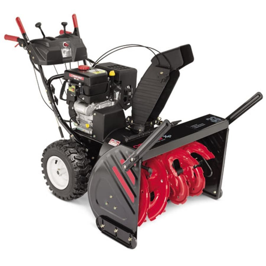 Troy-Bilt XP Polar Blast 3310 XP 33-in Two-stage Push-button Electric Start Gas Snow Blower with Heated Handles and Headlights