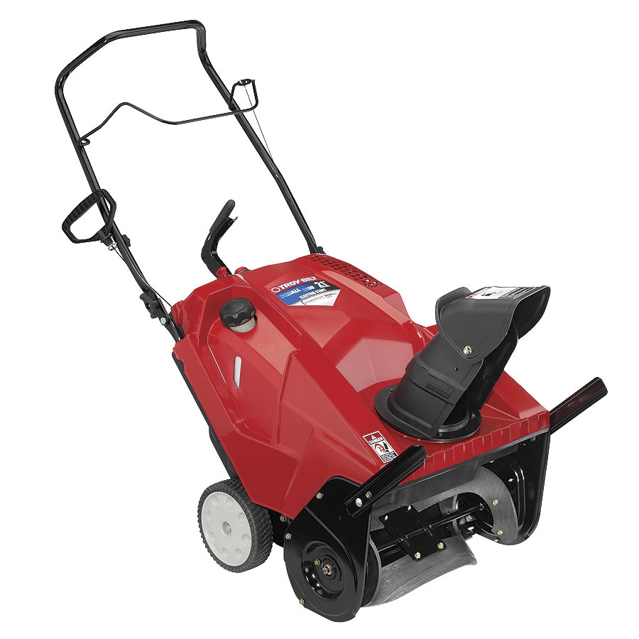 Troy-Bilt Squall 2100 21-in Single-stage Push-button Electric Start Gas Snow Blower