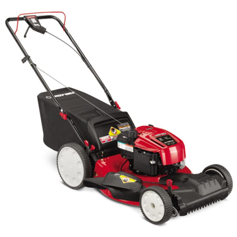 Troy-Bilt 190-cc 21-in Self-Propelled Front Wheel Drive 3-in-1 Gas Lawn Mower with Mulching Capability