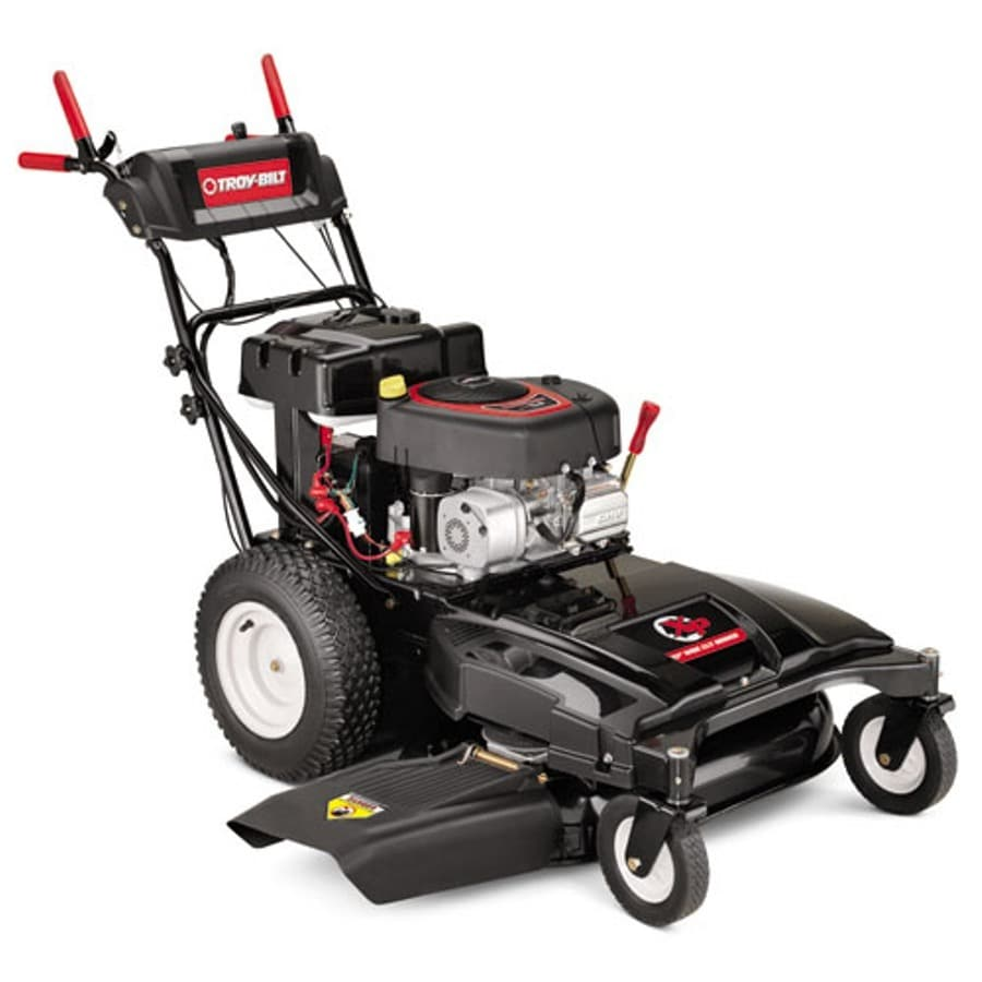 Troy-Bilt XP 344-cc 33-in Key Start Self-Propelled Rear Wheel Drive 2 in 1 Gas Push Lawn Mower with Briggs & Stratton Engine
