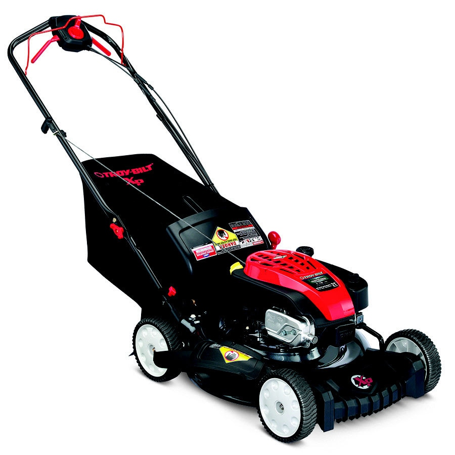 Troy-Bilt XP TB330 XP 175-cc 21-in Self-Propelled Rear Wheel Drive 3 in 1 Gas Push Lawn Mower with Briggs & Stratton Engine