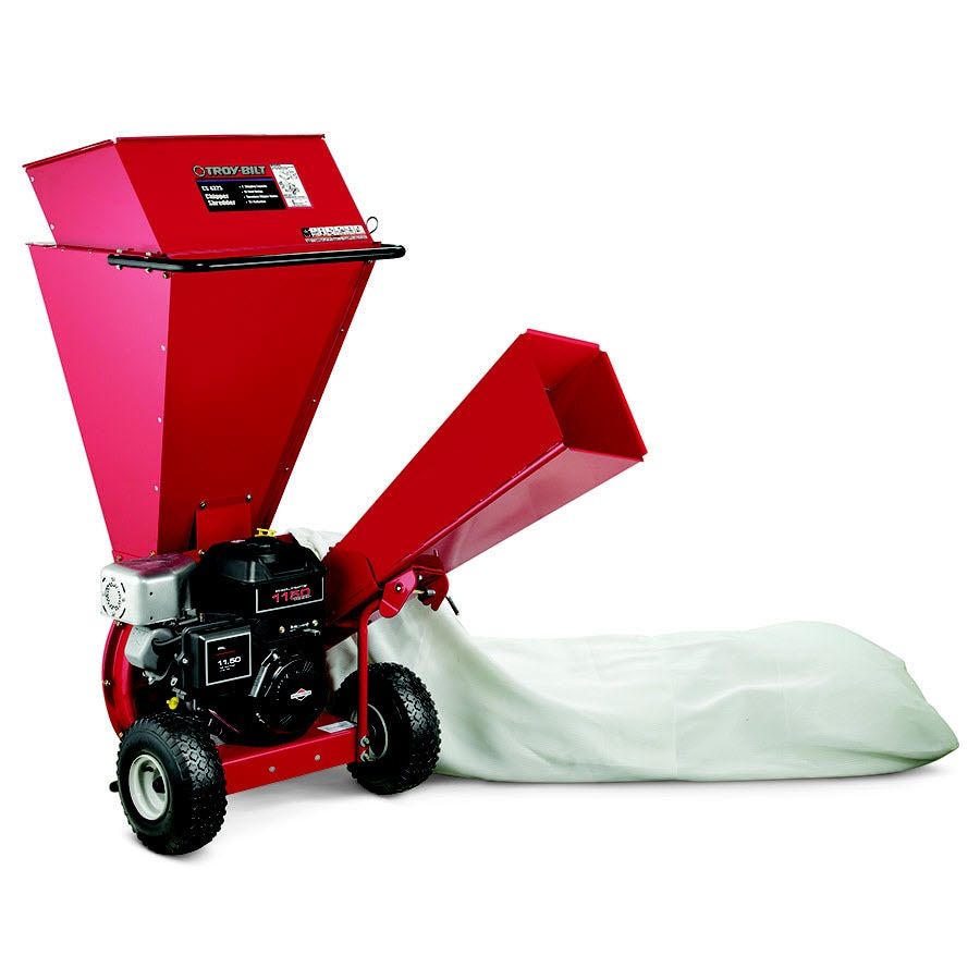 Troy-Bilt 250-cc Chromium Gas Wood Chipper
