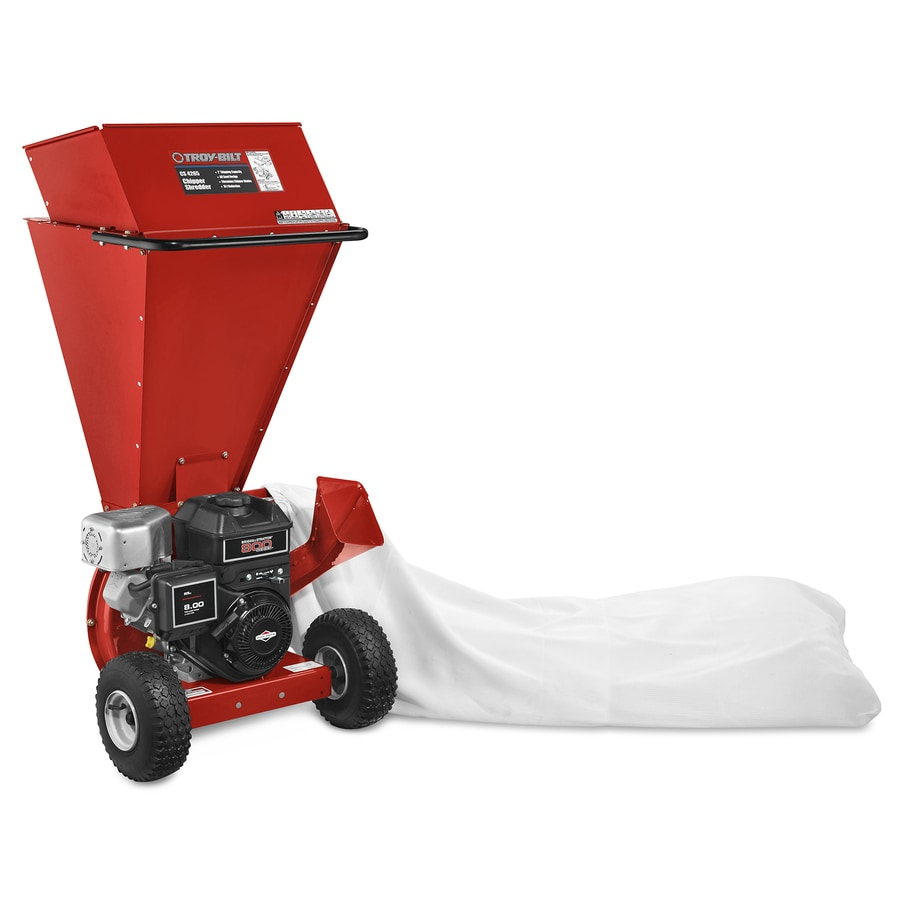 Shop Troy Bilt 205 Cc Chromium Gas Wood Chipper At Lowes Com