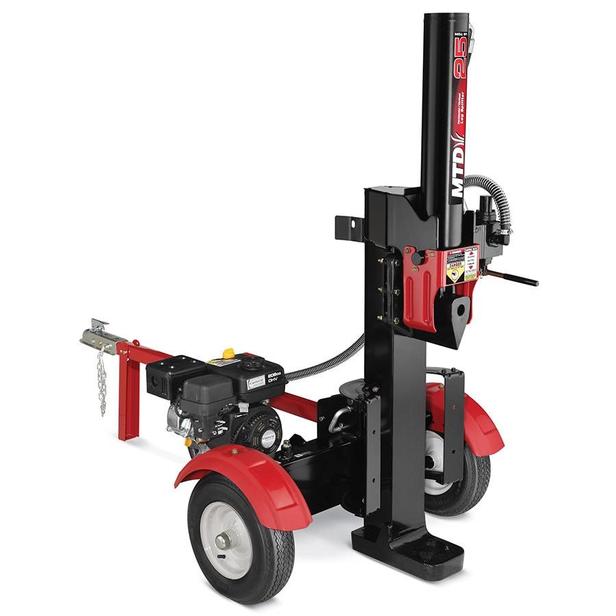 Lige ud Yard Machines 25-Ton Gas Log Splitter at Lowes.com HM53