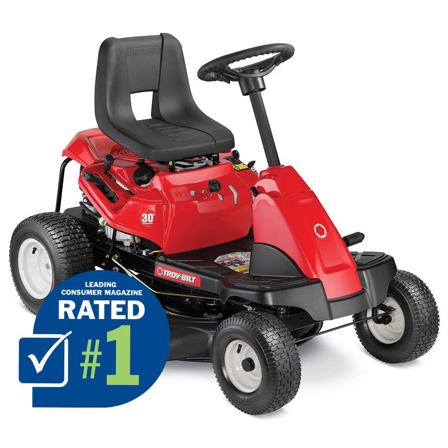 Troy-Bilt TB30R 11.5-HP Manual/Gear 30-in Riding Lawn Mower with Briggs & Stratton Engine