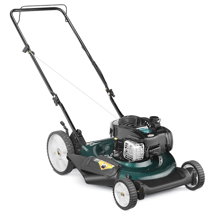 Bolens 140-cc 21-in Push Gas Lawn Mower with Briggs & Stratton Engine