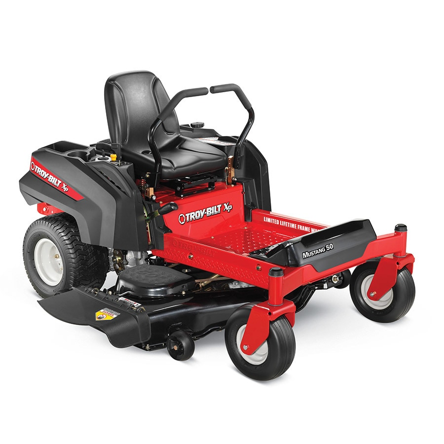 Troy-Bilt XP Mustang 50 25-HP V-Twin Dual Hydrostatic 50-in Zero-Turn Lawn Mower (CARB)