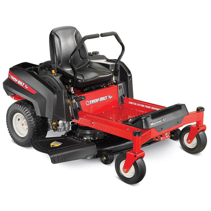 Troy-Bilt XP Mustang 42 22-HP V-Twin Dual Hydrostatic 42-in Zero-Turn Lawn Mower (CARB)