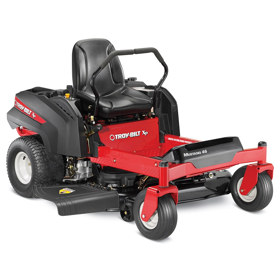 Troy-Bilt XP Mustang 46 24-HP V-Twin Dual Hydrostatic 46-in Zero-Turn Lawn Mower
