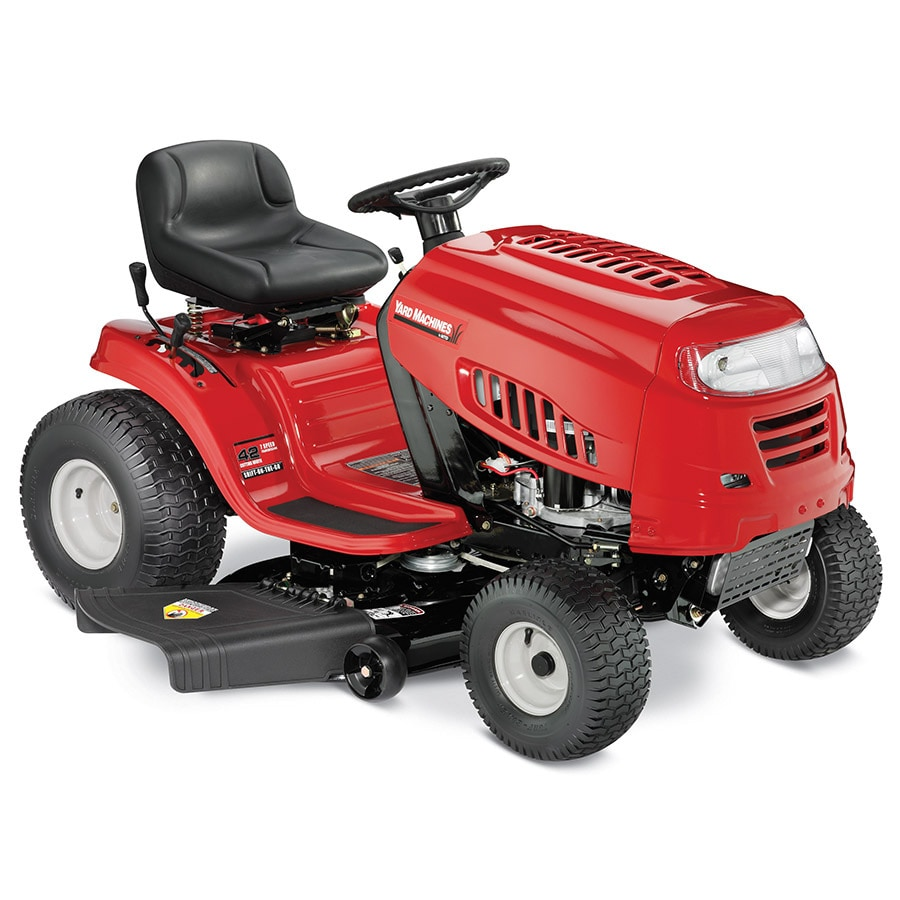 shop yard machines manual 42 in riding lawn mower at lowes com rh lowes com yard machines lawn tractor owner's manual yard machines lawn tractor owner's manual