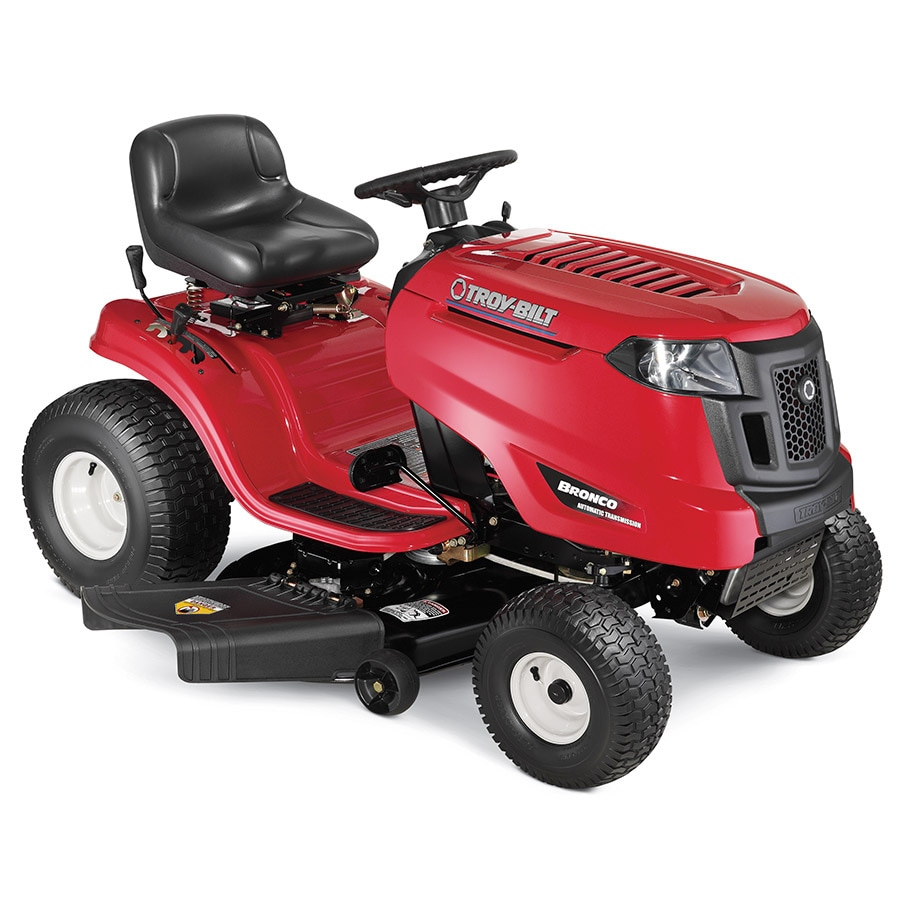 shop troy bilt bronco 19 hp automatic 42 in riding lawn mower at. Black Bedroom Furniture Sets. Home Design Ideas