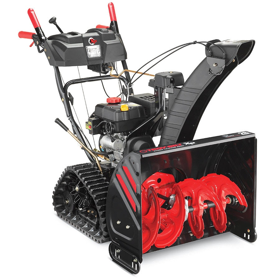 Troy-Bilt XP Storm Tracker 2690 XP 208cc 26-in Two-Stage Electric Start Gas Snow Blower with Heated Handles and Headlight