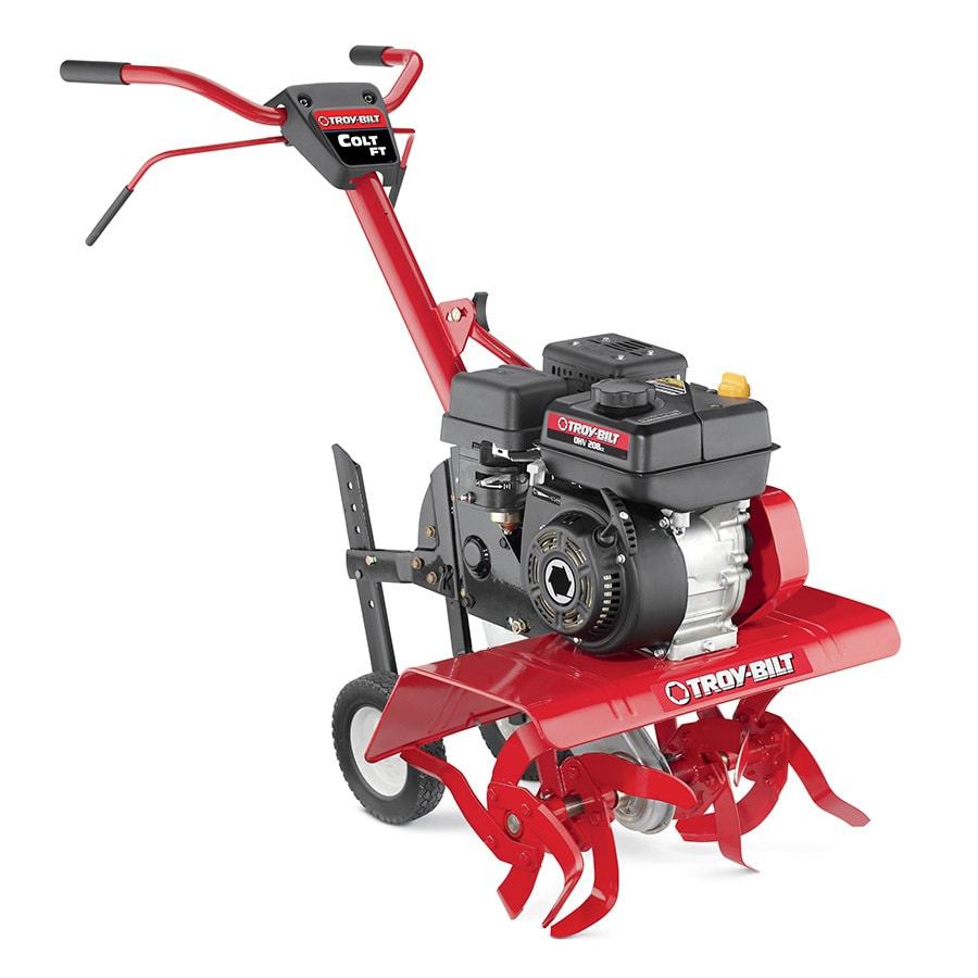 Shop Troy Bilt Colt Ft 208cc 24 In Front Tine Tiller Carb