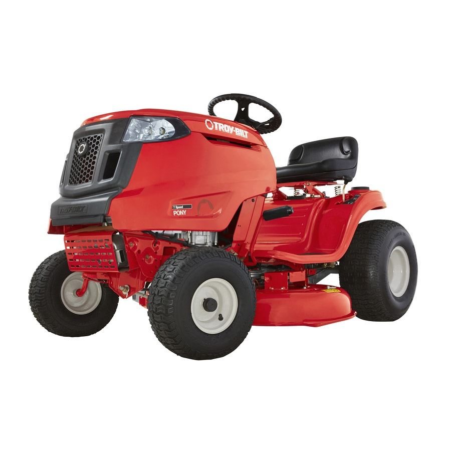 Riding Lawn Mower Gears : Shop troy bilt pony hp manual gear in riding lawn