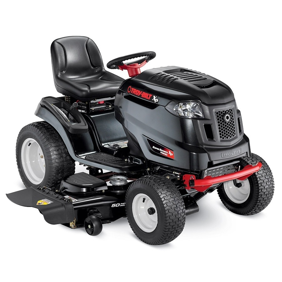 Troy-Bilt XP Super Bronco Xp 24-HP V-Twin Hydrostatic 50-in Riding Lawn Mower
