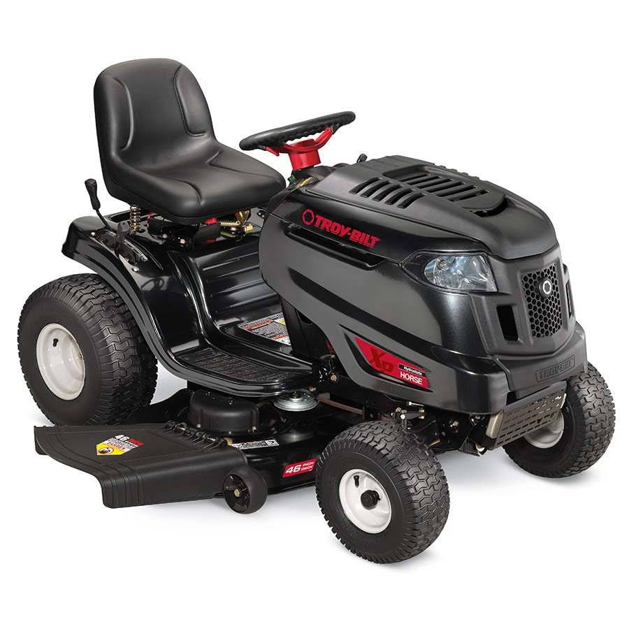 Troy-Bilt XP Horse XP 20-HP Hydrostatic 46-in Riding Lawn Mower with