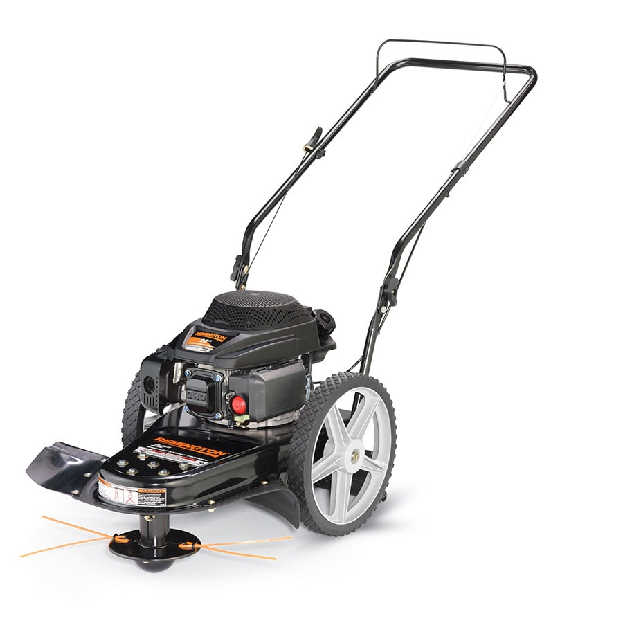Remington 159 Cc 22 In Walk Behind String Trimmer Mower At Lowes Com