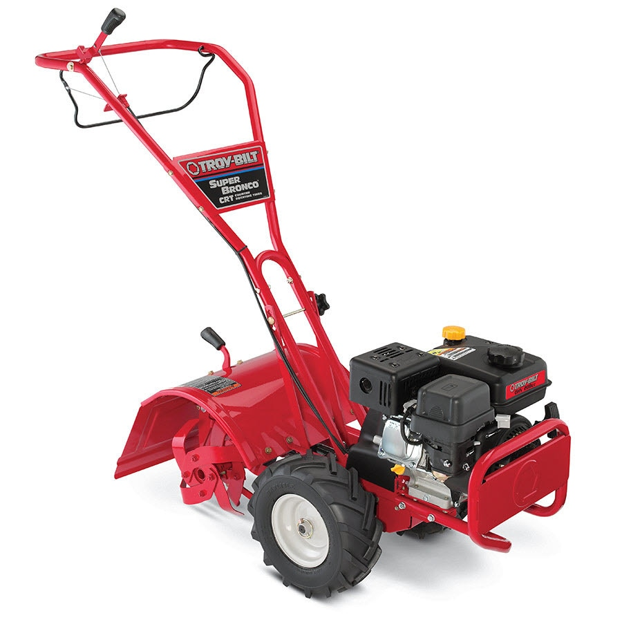 Shop Troy-Bilt Super Bronco CRT 208cc 16-in Rear-Tine Tiller (CARB) at Lowes.com