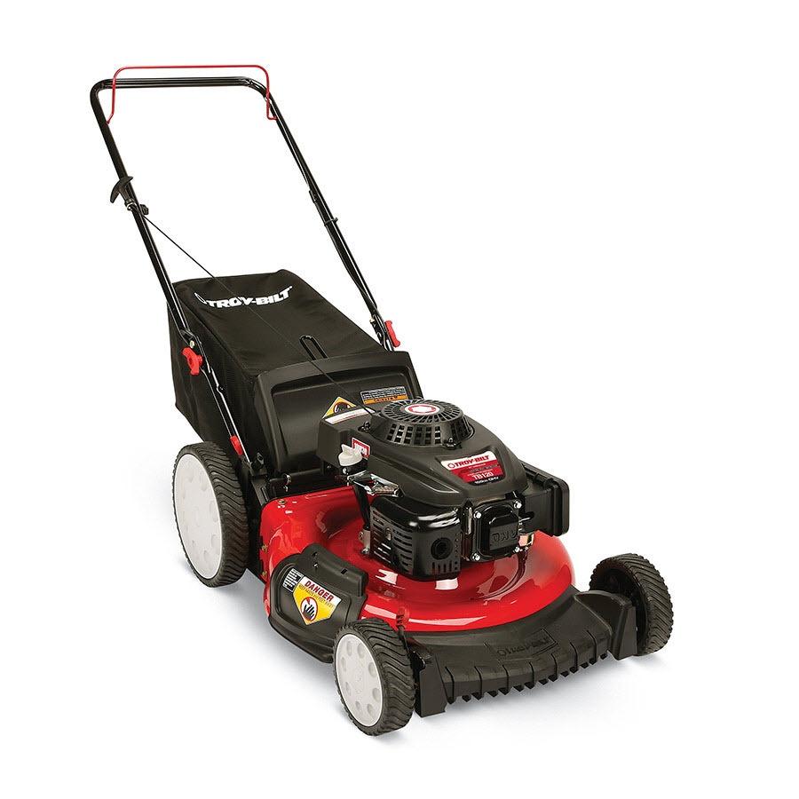 Troy-Bilt TB120 159-cc 21-in 3-in-1 Gas Push Lawn Mower with Mulching Capability