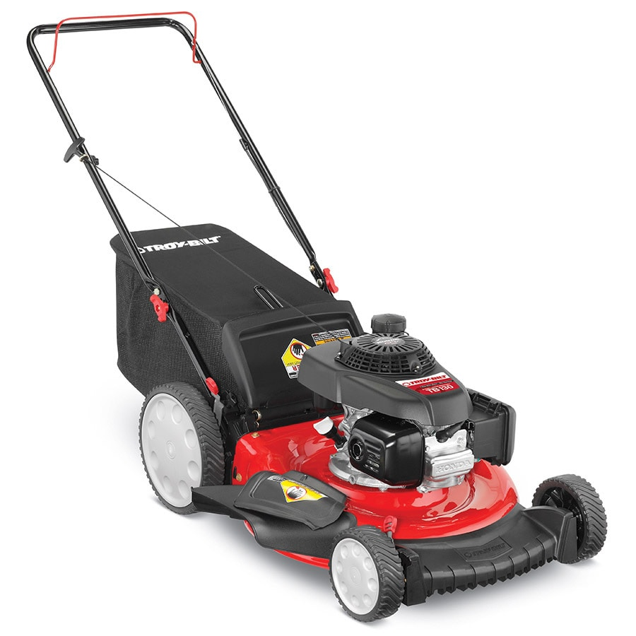 Troy-Bilt TB130 160-cc 21-in 3-in-1 Gas Push Lawn Mower with Mulching Capability with Honda Engine
