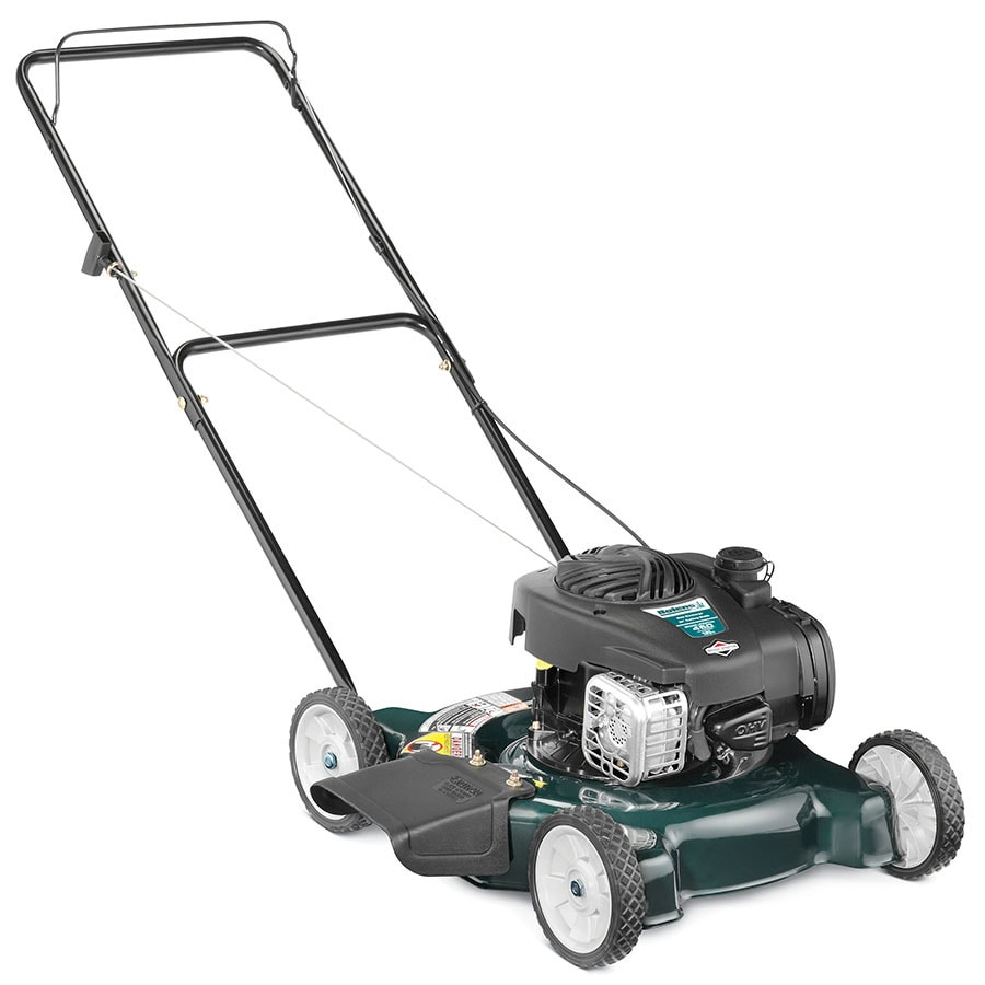 Bolens 125cc 20-in Push Residential Gas Push Lawn Mower With
