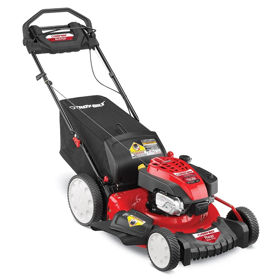 Troy-Bilt TB360 190cc 21-in Self-Propelled Rear Wheel Drive 3 in 1 Gas Push Lawn Mower with Briggs & Stratton Engine