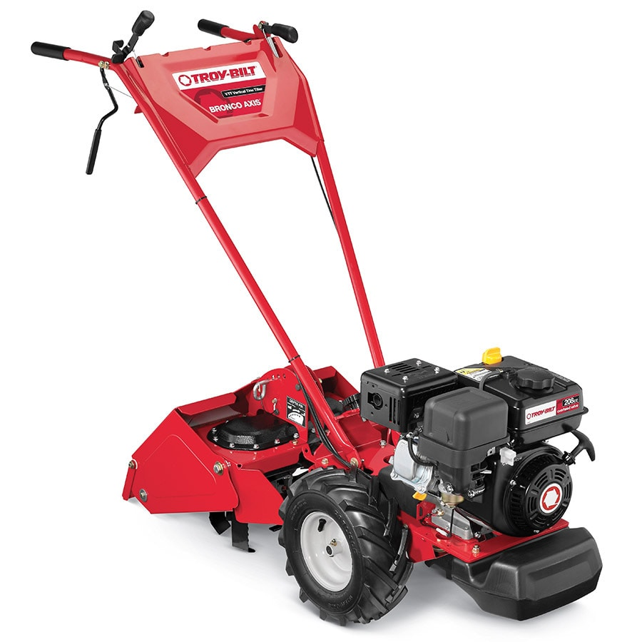 Shop Troy Bilt Bronco Axis 208 Cc 16 In Rear Tine Tiller Carb At Electrical Wiring Diagrams
