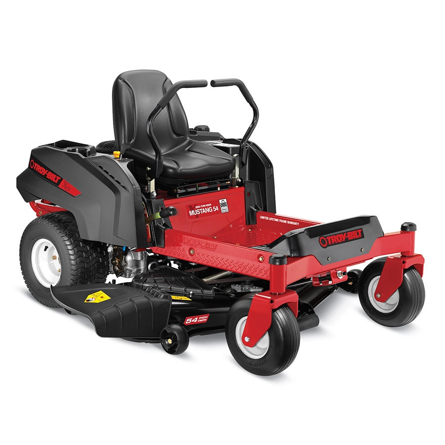 Shop Troy Bilt Xp Mustang 54 Xp 25 Hp V Twin Dual