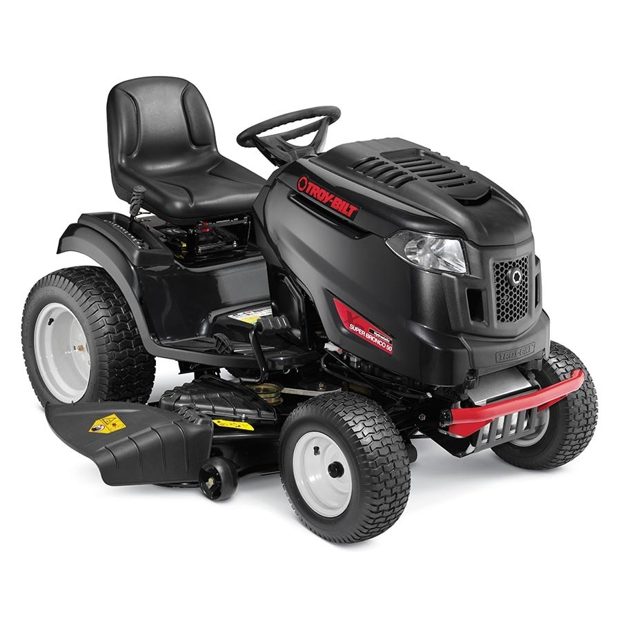 Shop Troy-Bilt XP Super Bronco Xp 50 24-HP V-Twin Hydrostatic 50-in Riding Lawn Mower at Lowes.com