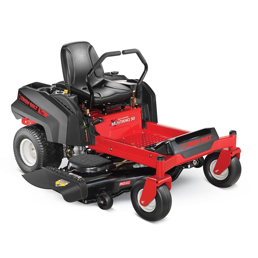 Shop Troy Bilt Mustang 50 Xp 25 Hp V Twin Dual Hydrostatic