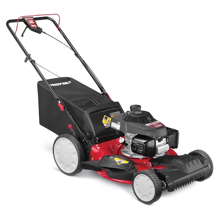 shop troy bilt tb240 160cc 21 in self propelled front wheel drive residential gas lawn mower
