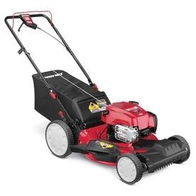 Troy-Bilt TB110 140-cc 21-in Push Gas Lawn Mower with Briggs
