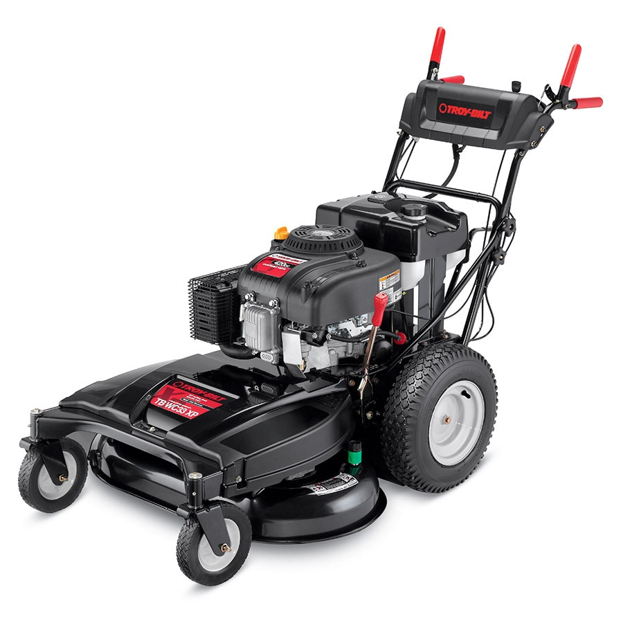 Troy-Bilt XP TB WC33 Xp 420-cc 33-in Key Start Self-Propelled Rear Wheel Drive Residential Gas Lawn Mower with Mulching Capability
