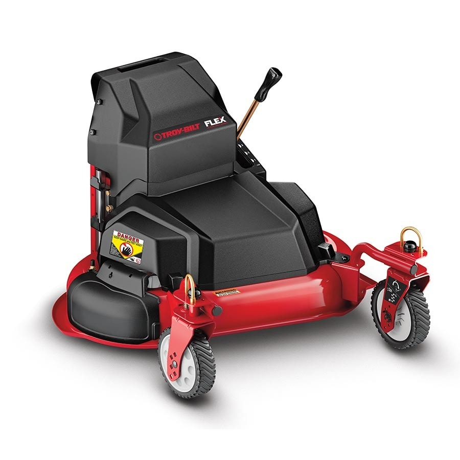 Troy Bilt Flex 28 In Lawn Mower Base Attachment With Mulching Kit At