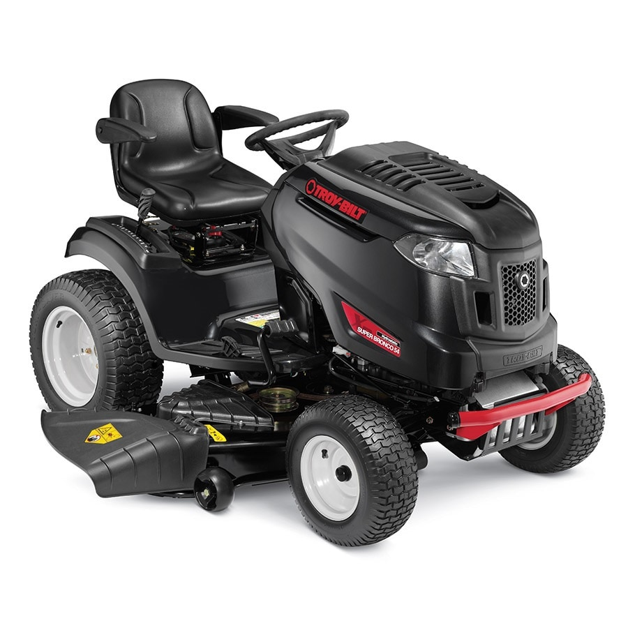 Troy-Bilt XP Super Bronco 54 XP 25-HP V-Twin Hydrostatic 54-in Riding Lawn Mower