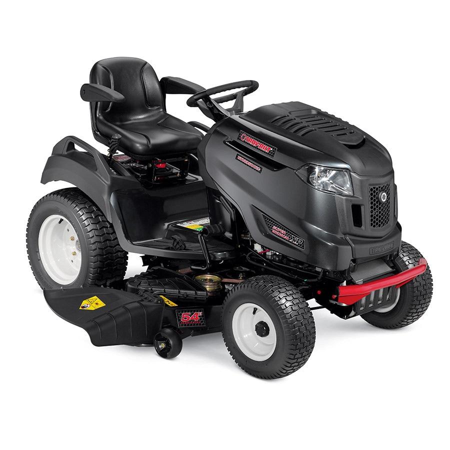 Troy-Bilt Super Bronco Xp 54 Gt Fab 26-HP V-Twin Hydrostatic 54-in Garden Tractor