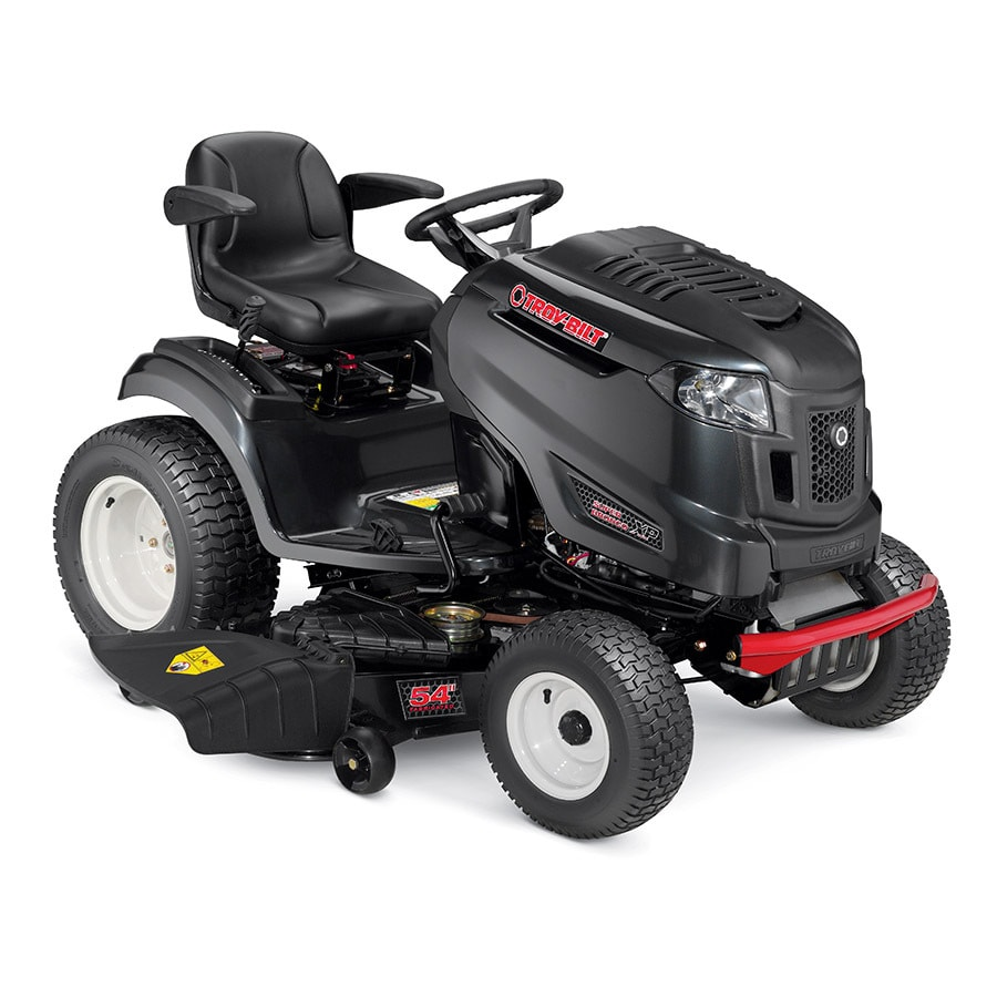 Troy-Bilt XP Super Bronco XP 54 FAB 25-HP V-twin Hydrostatic 54-in Riding Lawn Mower with Mulching Capability (Kit Sold Separately)