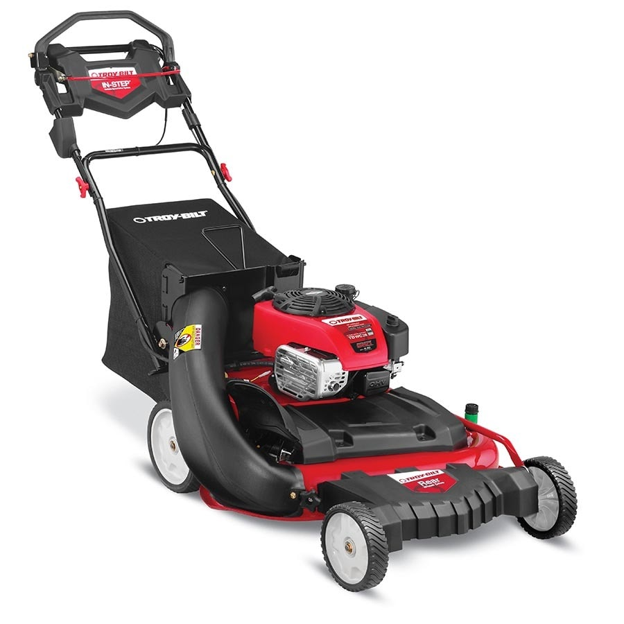 223cc 28-in Self-Propelled Rear Wheel Drive Residential Gas Push Lawn Mower with Mulching Capable